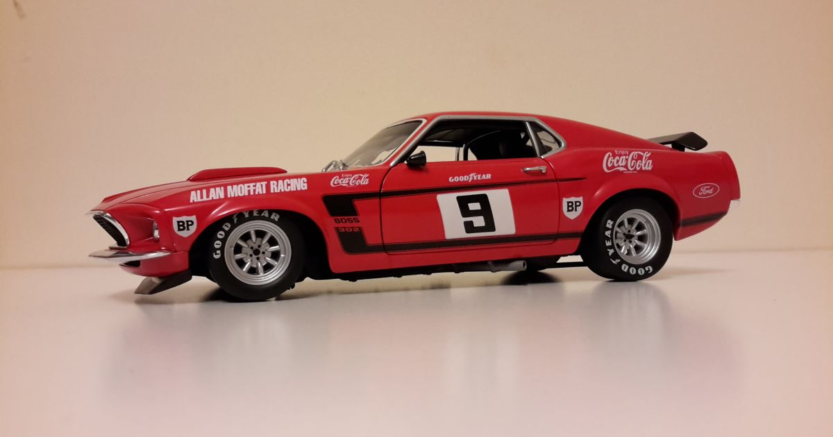 1 18 1969 Ford Mustang Boss 302 Trans Am One Of The Best
