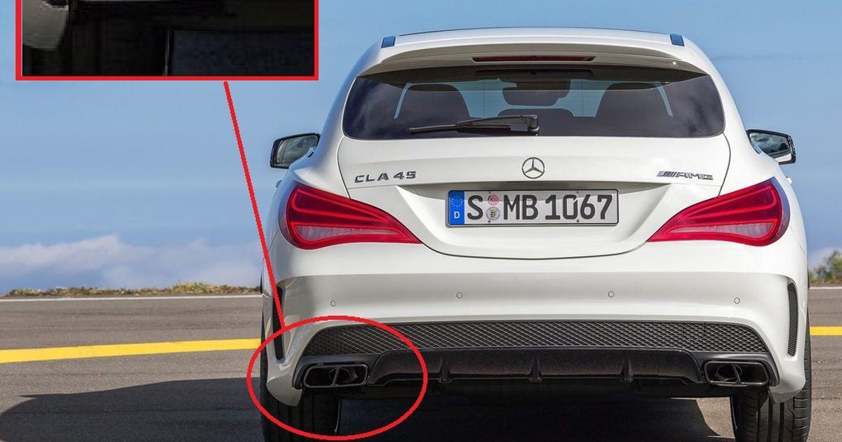 5 Of The Worst Fake Exhaust Tips On A Car