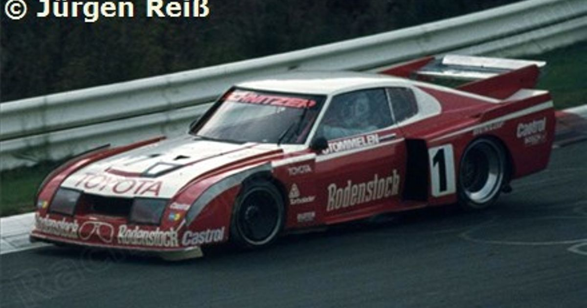 The forgotten Toyota Celica racecars
