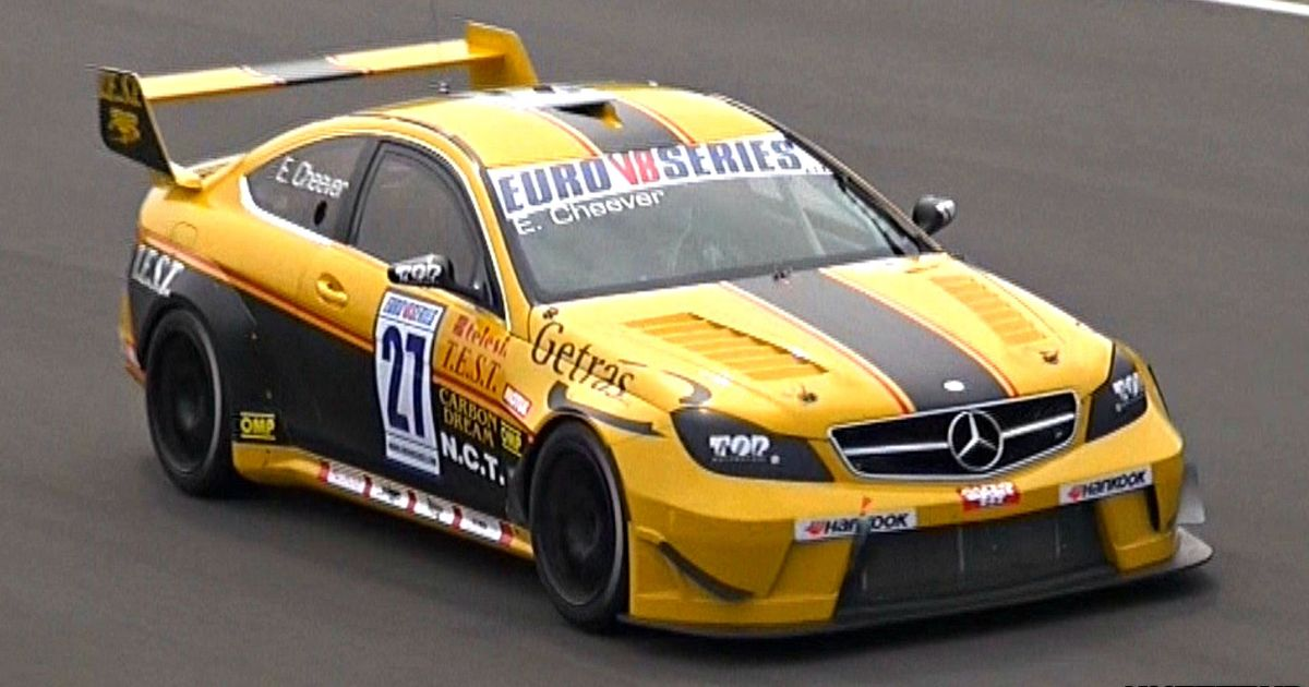 Mini Supercars For Sale >> These Mercedes C63 AMG Race Cars Sound Preposterously Angry