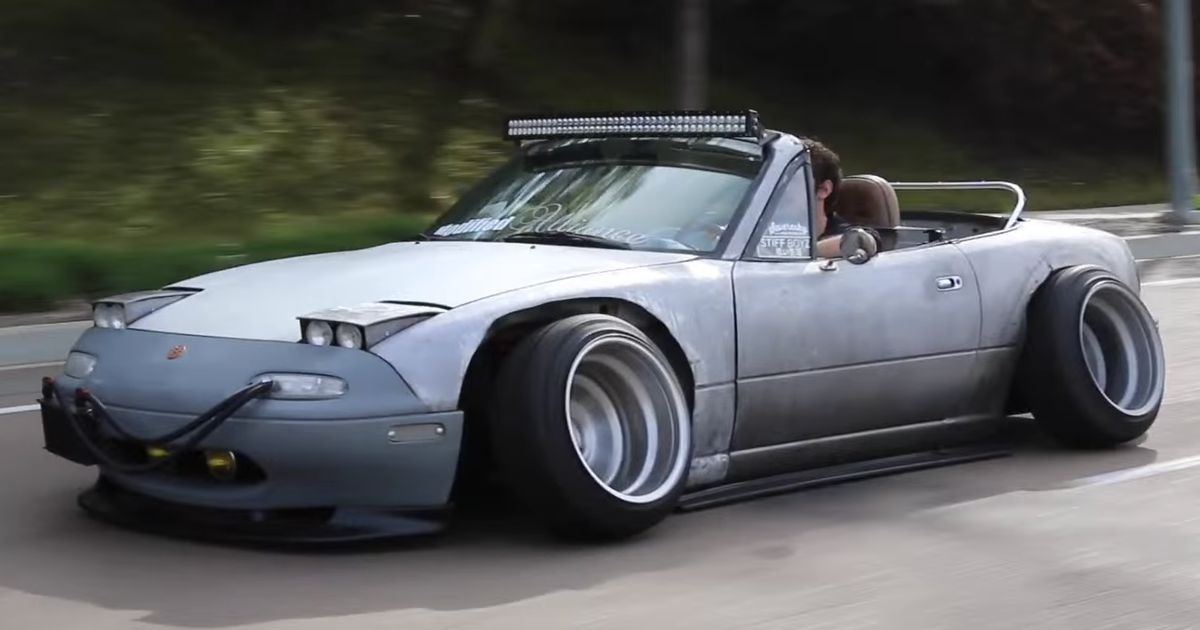 This Quot No F Ks Given Quot Mx 5 Is A Mazda Purist S Nightmare