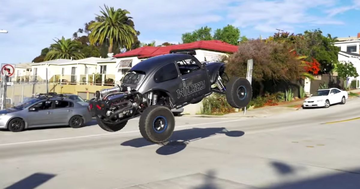 Watch This Ls Powered Bug Tear Up San Diego In An Illegal