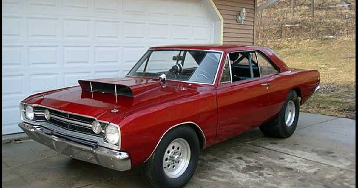Why A 68 Dodge Dart Hemi Super Stock Because Musclemonday