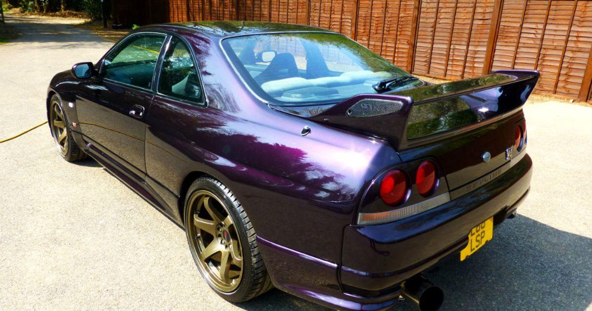 Midnight Purple R33 Gtr For Sale