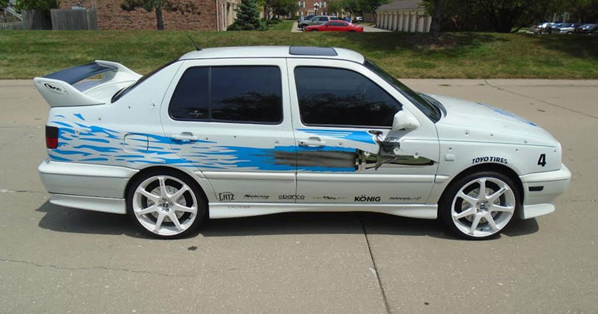 The Actual \'No Callipers\' VW Jetta From Fast And Furious Is For Sale