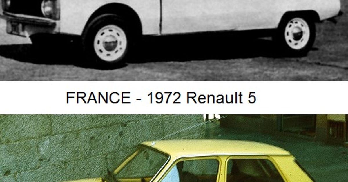 """Stolen Ideas"" vol.1 FSO Syrena 110 & Renault 5"