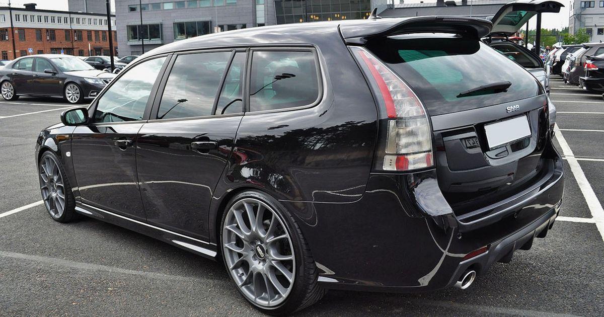 realistic dream car saab 9 3 turbo x wagon. Black Bedroom Furniture Sets. Home Design Ideas