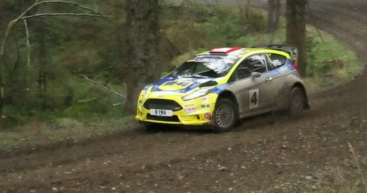 Stephen Petch In His Wd 40 Backed Ford Fiesta On The