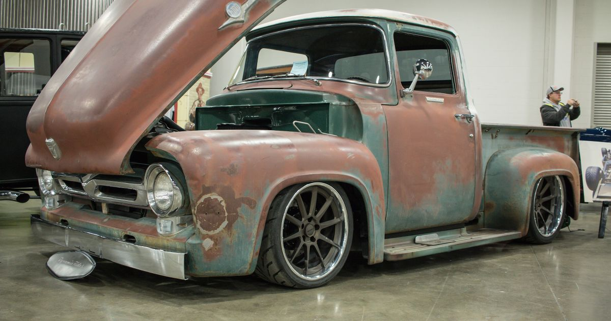 Effin Confused 427 Powered 1956 Ford F100 Pro Touring