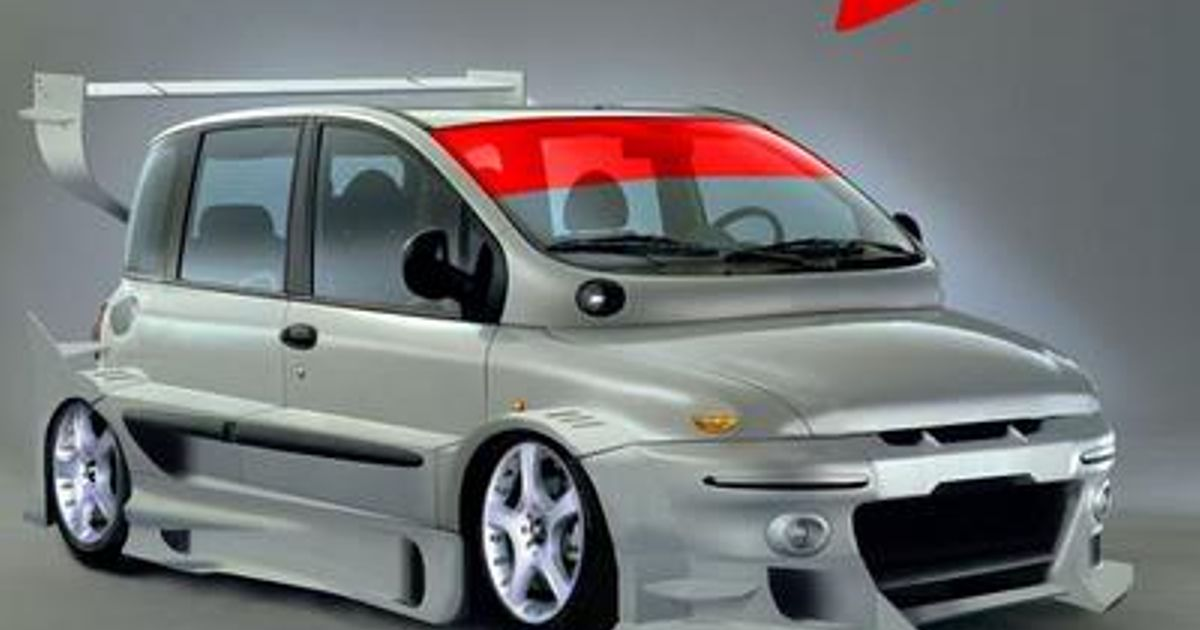This Is What Happens When You Search Quot Cool Fiat Multipla Quot