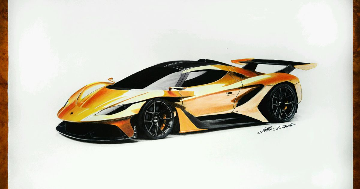 Apollo Arrow Drawing 50x35cm 5 Hours Of Work Made Using