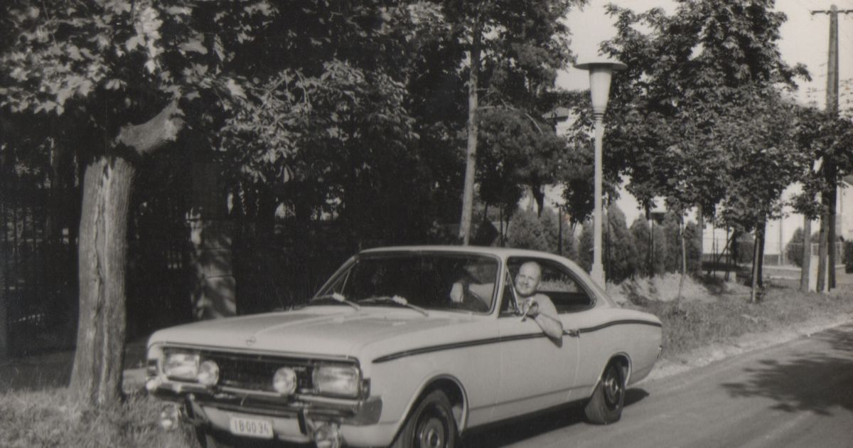 My Grandfather In His Opel Rekord Sprint Coupe 1973 Opelownage