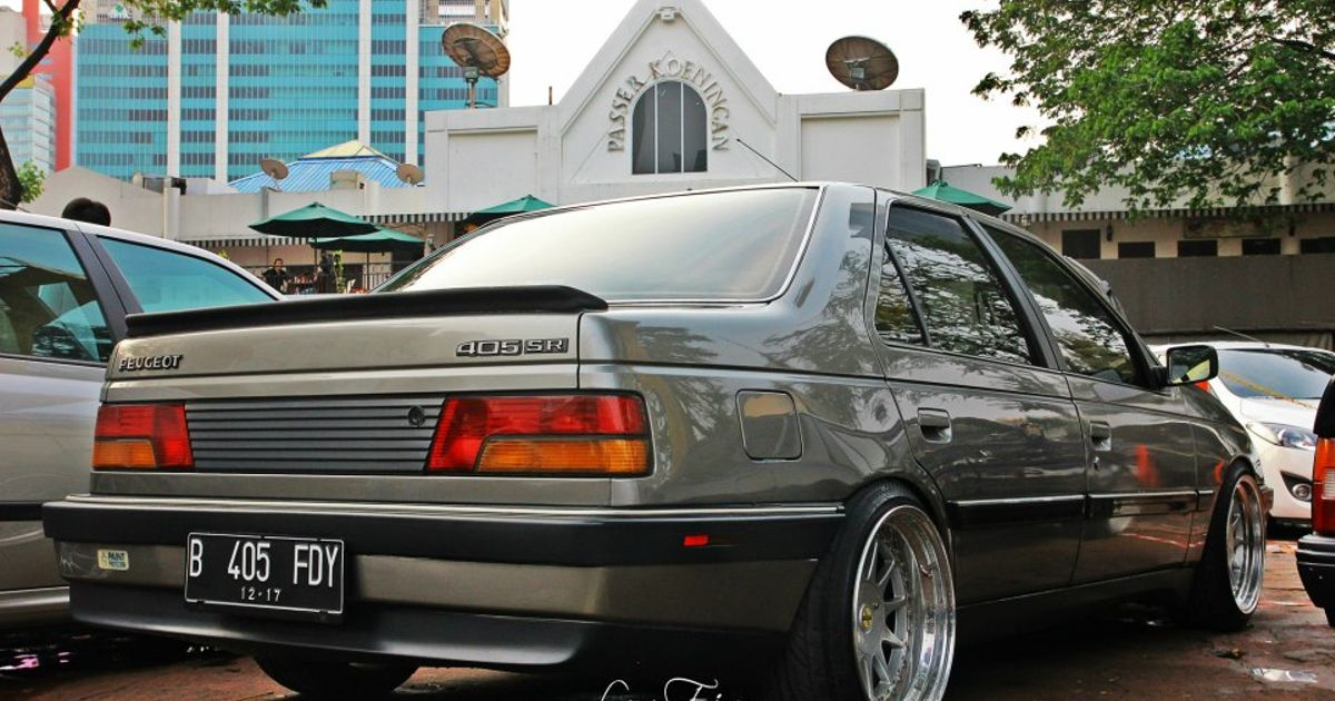 Peugeot 405 French Cars Are So Beautiful