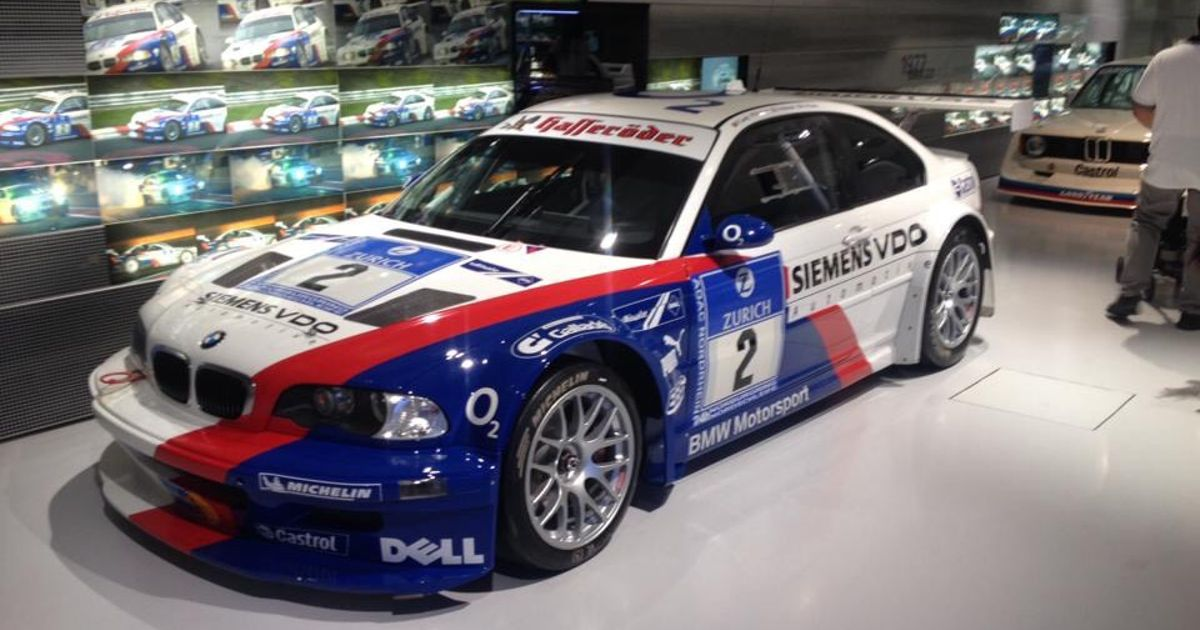 The Legendary Bmw M3 Gtr E46 From The Original Nfs Most Wanted In The Real Race Version Spottet In The Bmw Museum In Munich