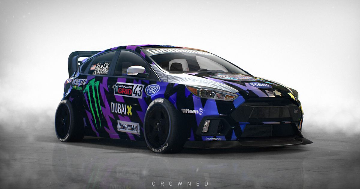 Forza 7 Car List >> NFS 2015 + Photoshop Gymkhana 8 Ford Focus RS