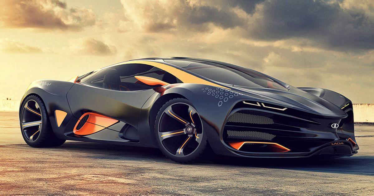The Supercar Concept Car by Lada?