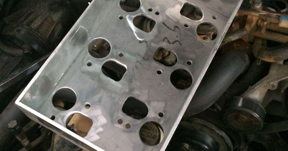 Mustang Split Port V6 Intake Manifold For Supercharger