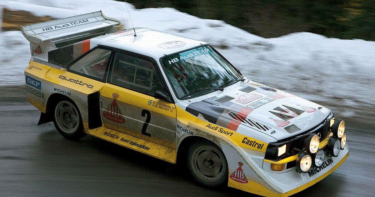 Audi S1 Quattro 1985
