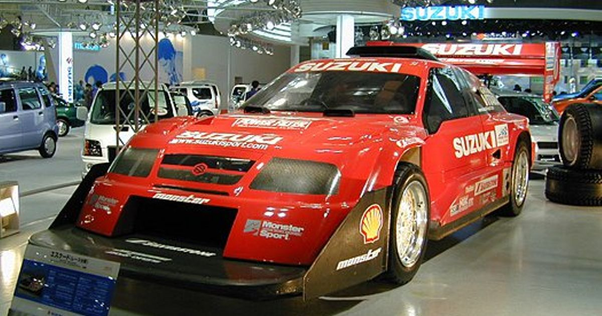Suzuki Escudo Dirt Trial Car