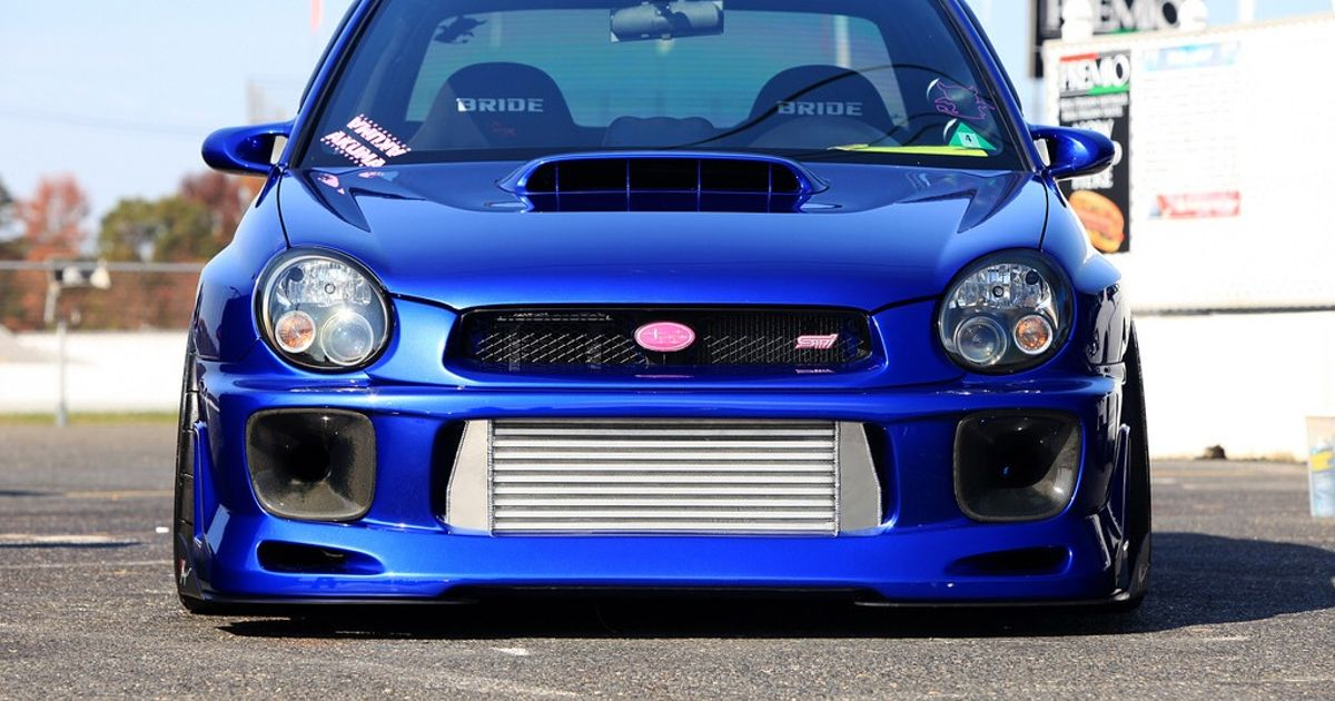 Subaru Impreza Wrx Sti Bug Eye