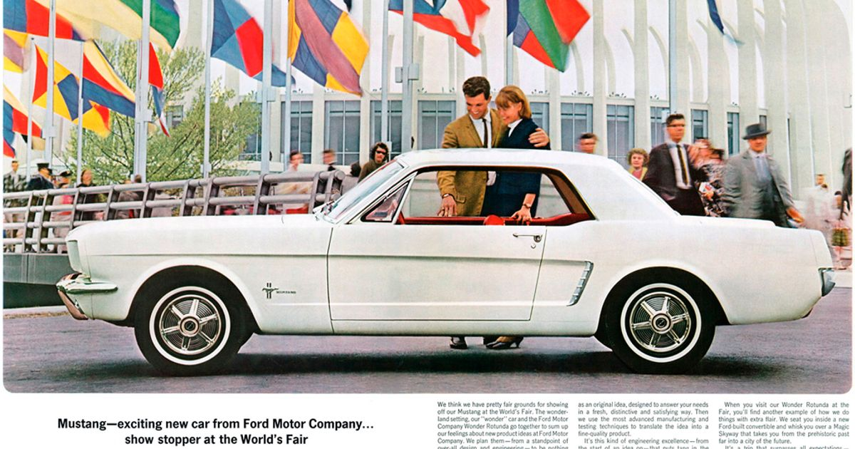 the invention history and advancements of the mustang since 1964