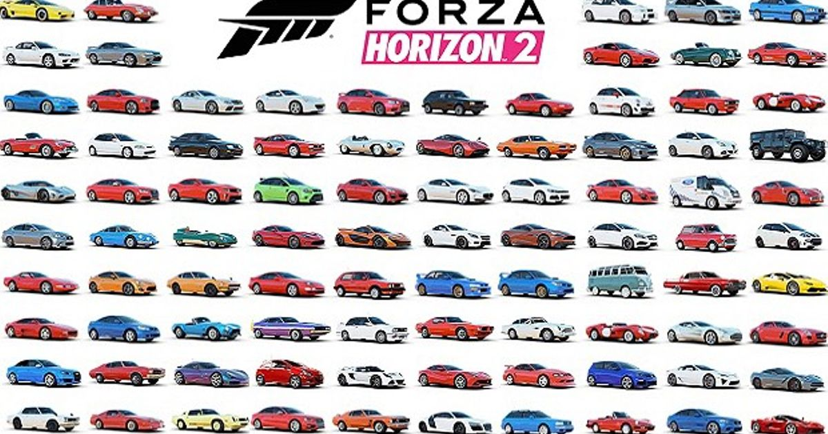 All Cars In Forza Horizon 3 - Cars Image 2018