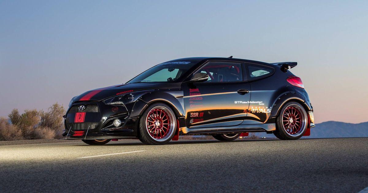 The Wild 500 Hp Demon Hyundai Veloster Turbo
