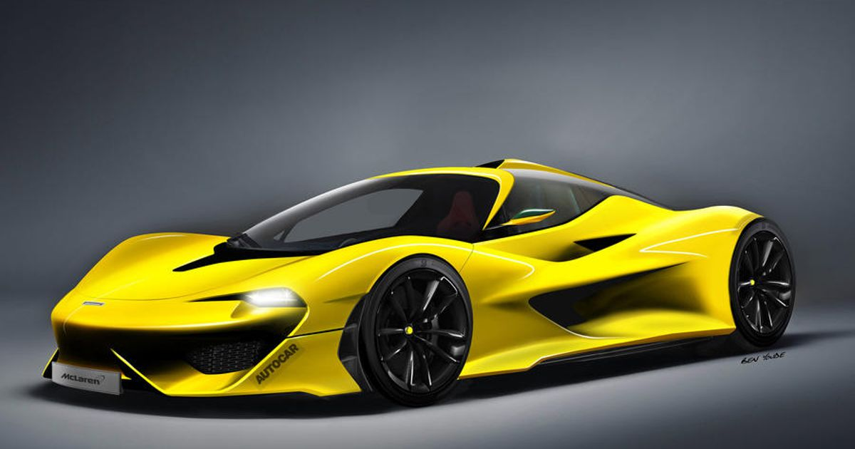 We Need To Talk About That Rumoured Three-Seat McLaren F1 'Successor'