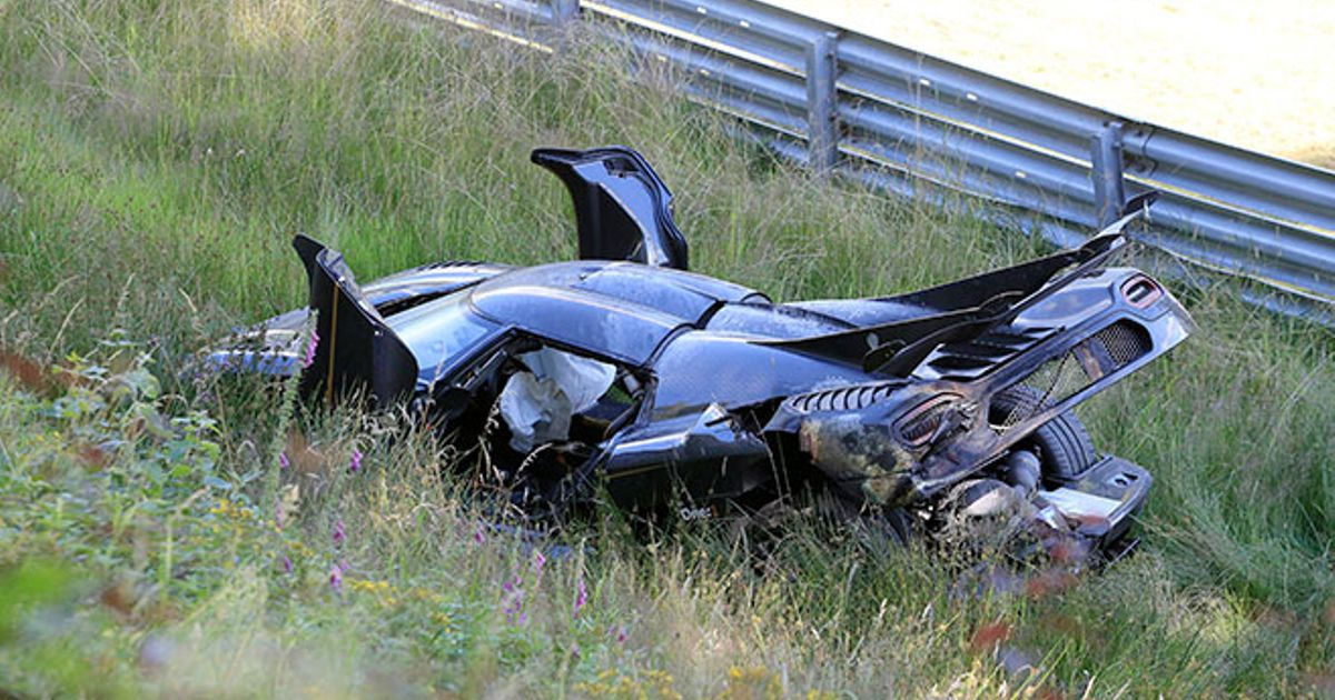 Koenigsegg One 1 Chassis 107 Crashes At The Nurburgring