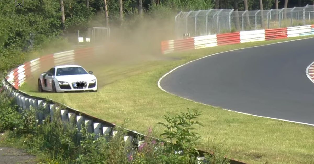 This Audi Driver Almost Pulled Off The Greatest Nurburgring