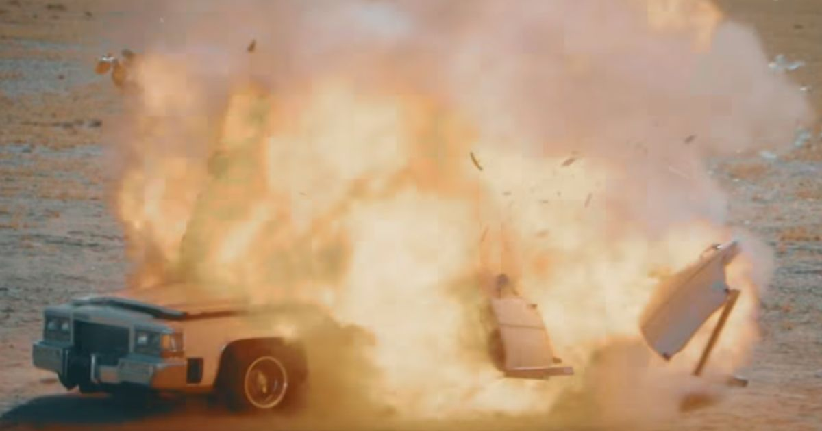 These Cars Get Blown Up For No Reason Other Than Manly Fun