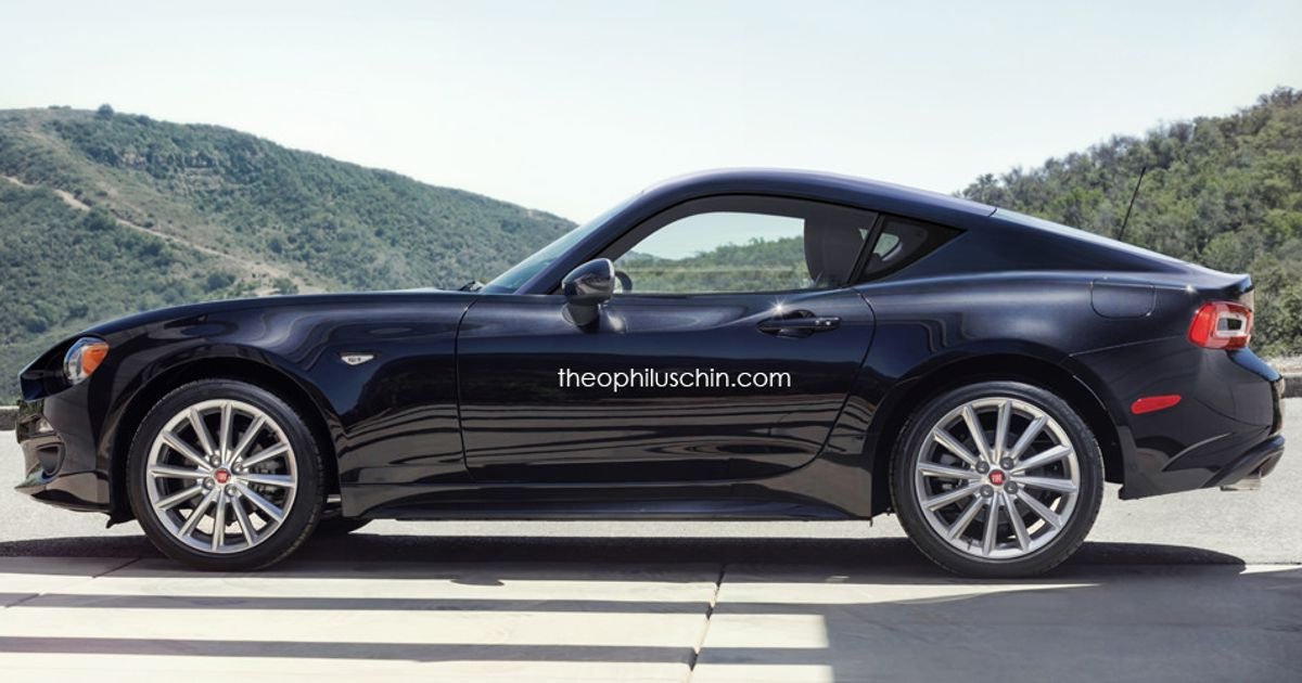 The Stunning Fiat 124 Coupe Could Be With Us In 2017