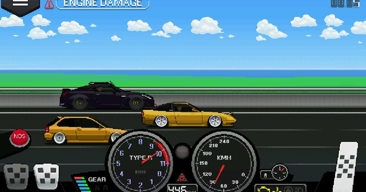 Which has been your top speed on pixel car racer? - Share an ...