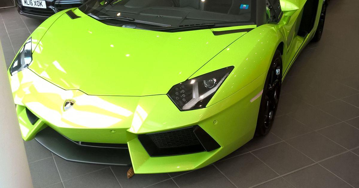 Lamborghini Aventador LP Spotted At Redline Specialist Cars - Sports cars harrogate