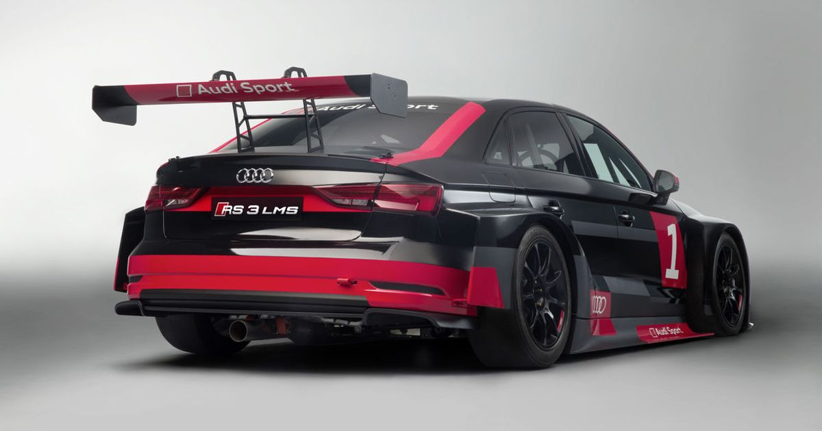 Audi Has Revealed A Badass Racing Version Of The Rs3 Saloon