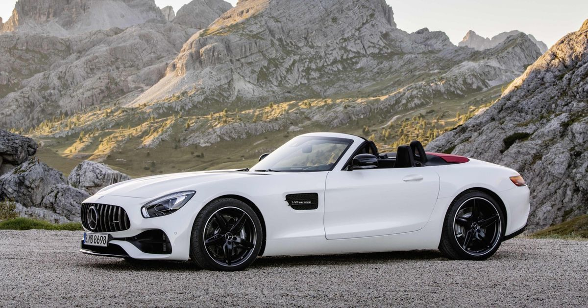 The Mercedes Amg Gt C Roadster Is A 547bhp Drop Top With