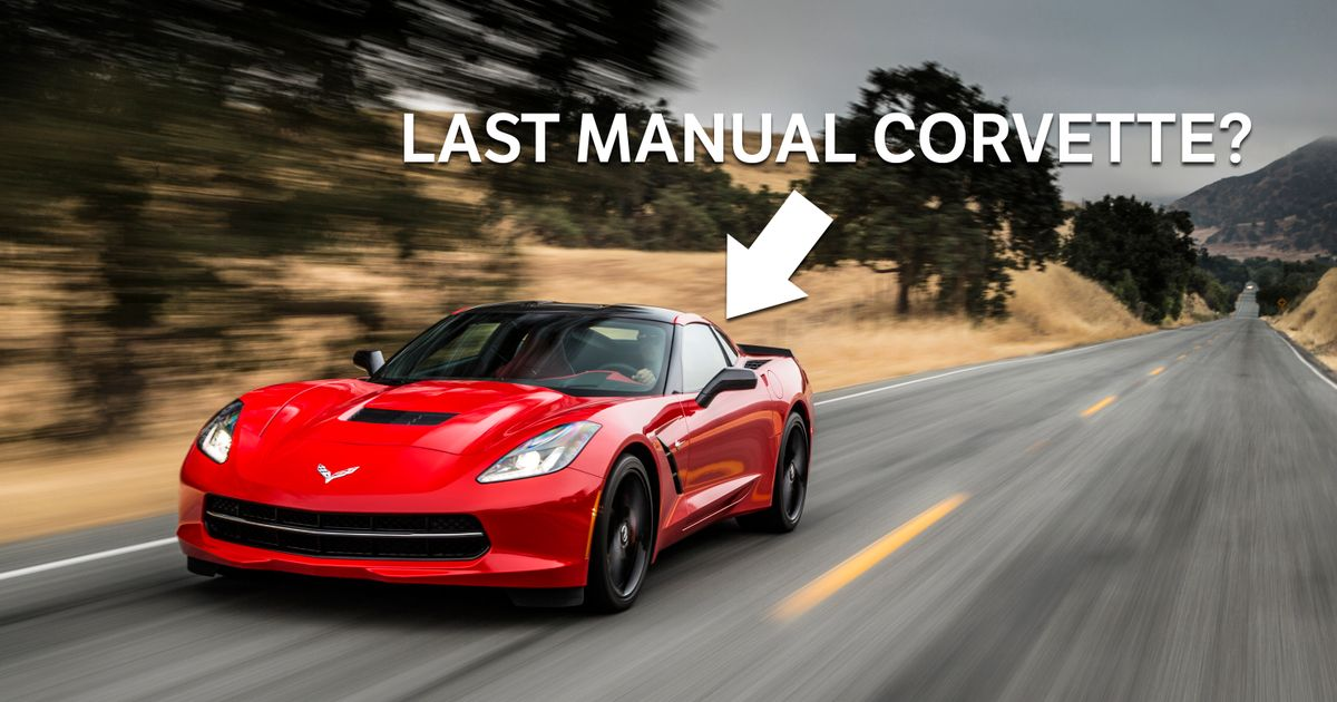 rip manual corvettes