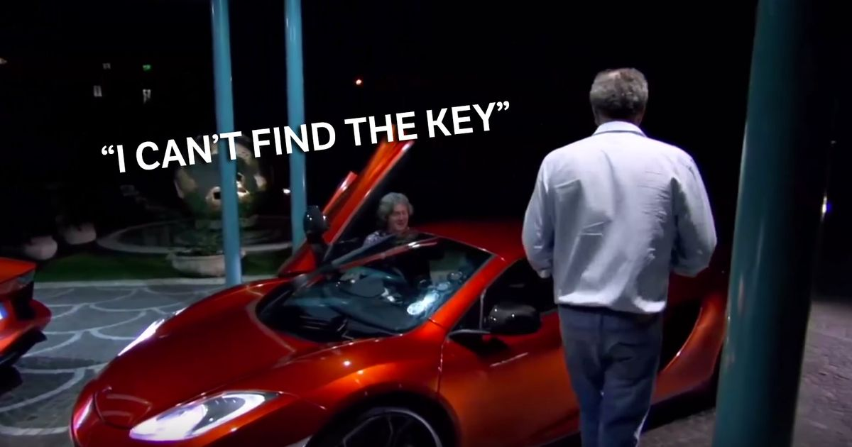 This Top Gear Deleted Scene Perfectly Demonstrates Why