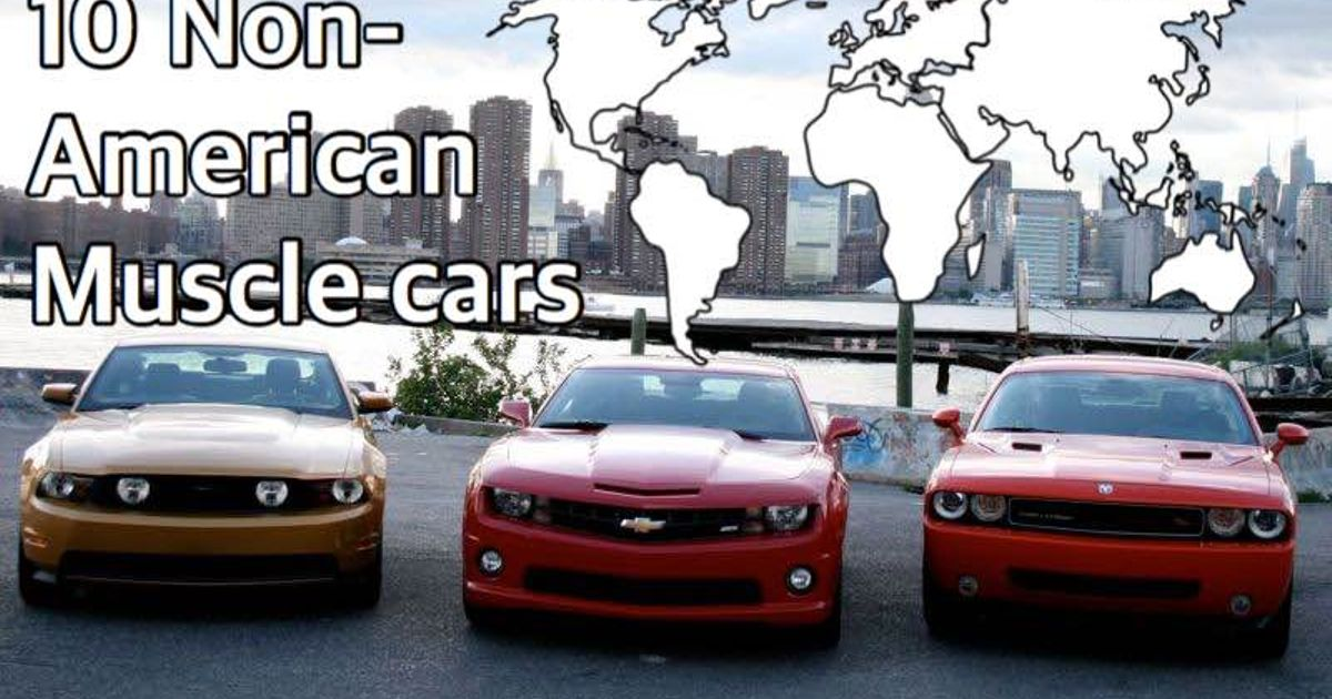 10 non american muscle cars. Black Bedroom Furniture Sets. Home Design Ideas