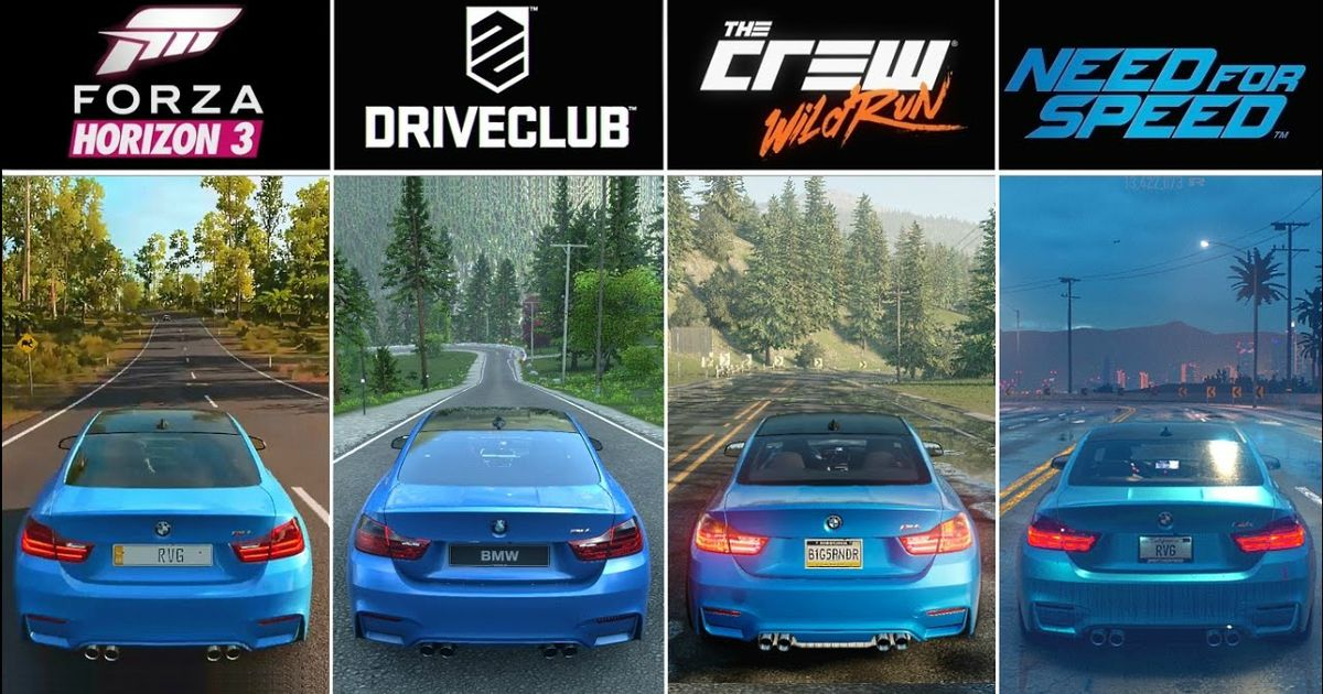 Here S How Forza Horizon 3 S Graphics Compare To Its Rivals