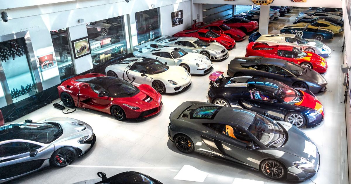 My Top 10 Car Dream Garage