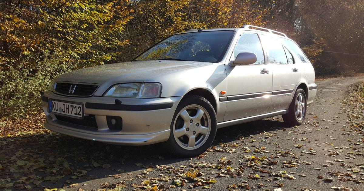 1998 Honda Civic Aerodeck Vti 1 8