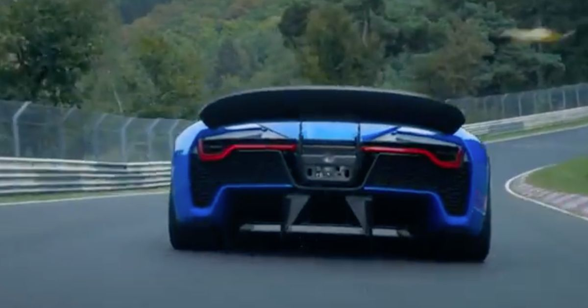 The Nextev Nio Ep9 Would Be The Overall Ring Record