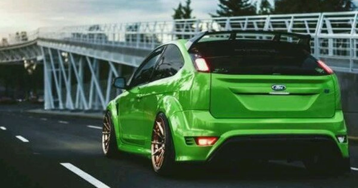 stanced ford focus rs mk2. Black Bedroom Furniture Sets. Home Design Ideas