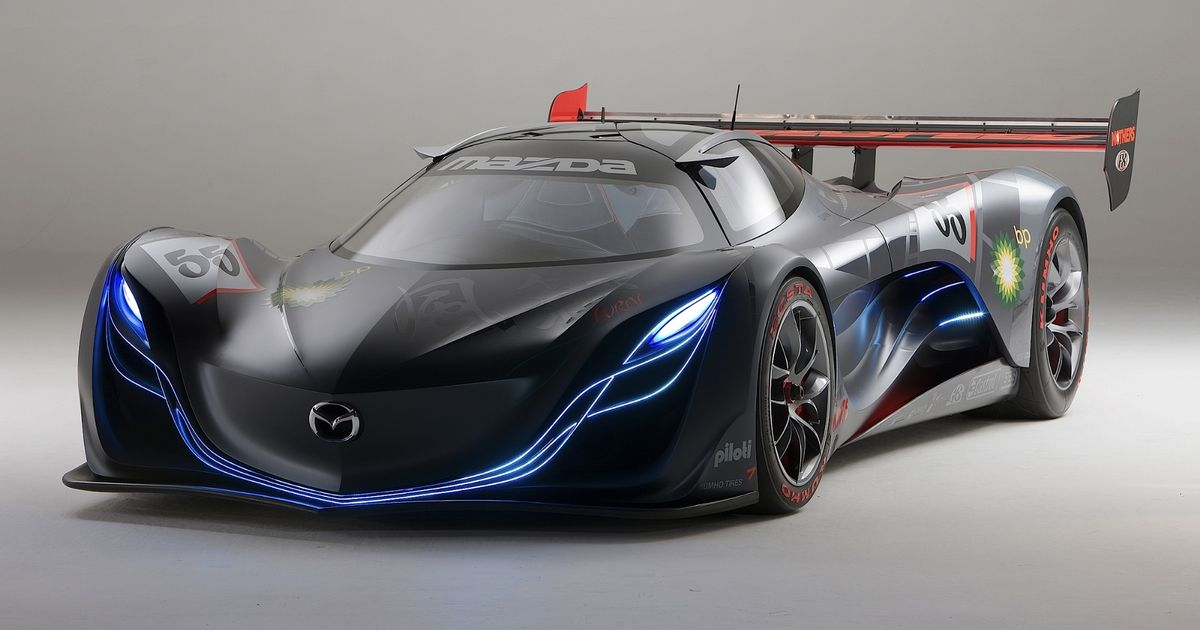 the mazda furai a flame that flickered and died. Black Bedroom Furniture Sets. Home Design Ideas