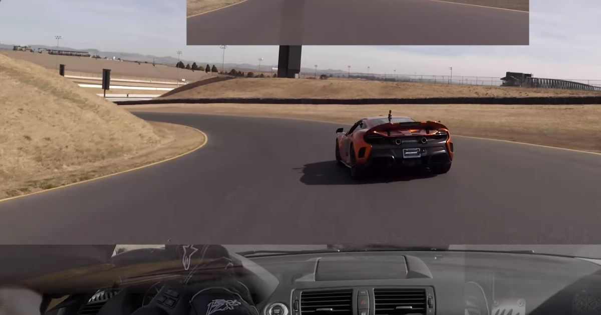Watch A Plucky Bmw Give A Mclaren Some Real Hassle On Track