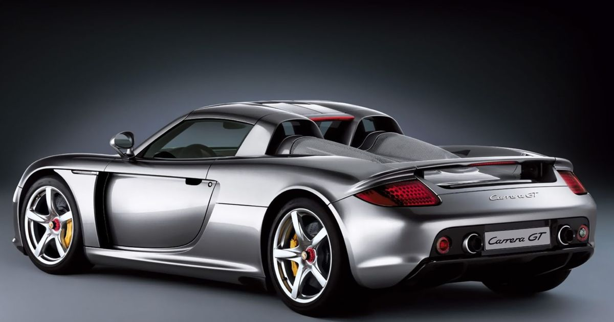 why the porsche carrera gt is the last true hypercar. Black Bedroom Furniture Sets. Home Design Ideas