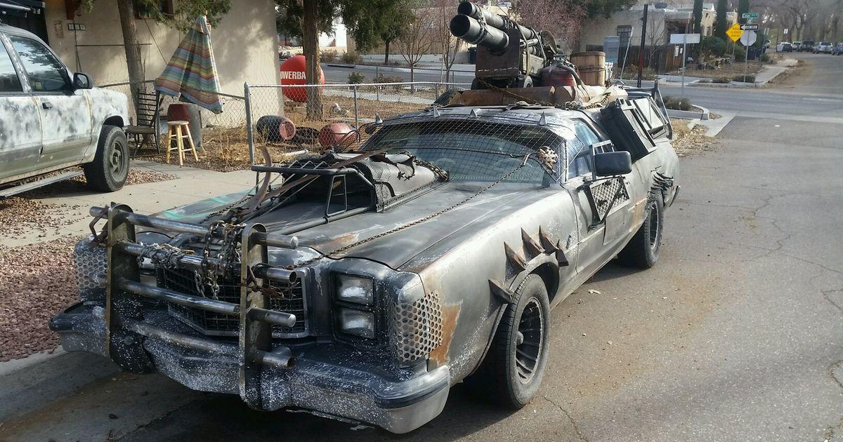 Mad Max-style El Camino (i think)