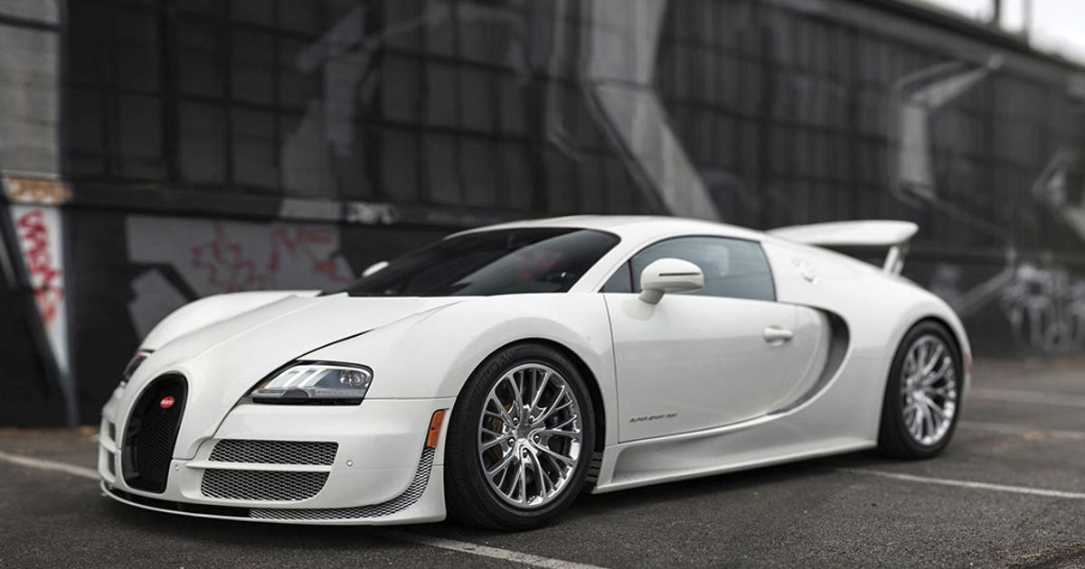 The Last Bugatti Veyron Coupe Ever Made Is For Sale And It S Going