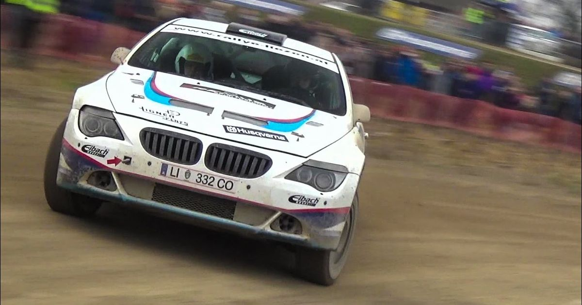 This Lifted BMW 650i Is Our Kind Of Rally Car